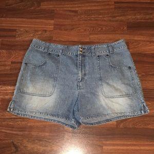 Carolina Blues Jean Shorts